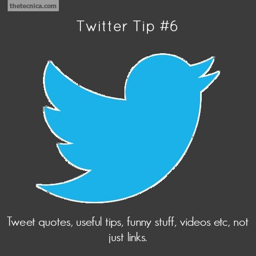 Twitter tip 6