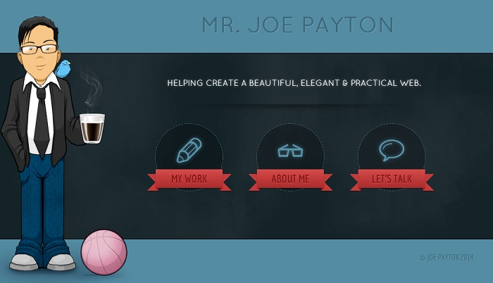 josephpayton About Us Page design