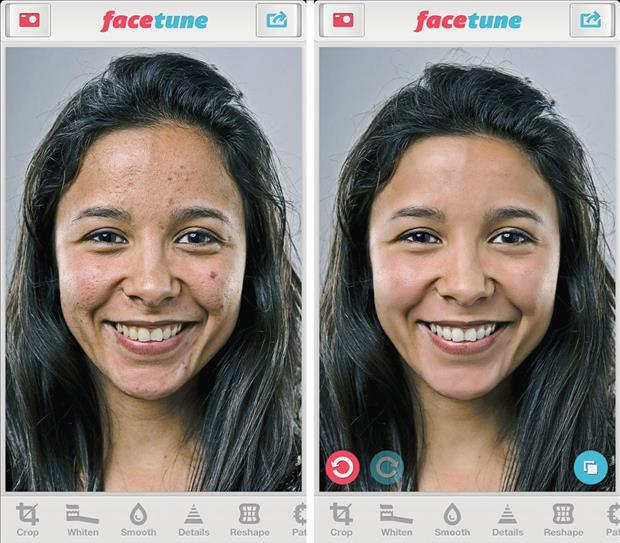 Facetune - photography apps for iOS