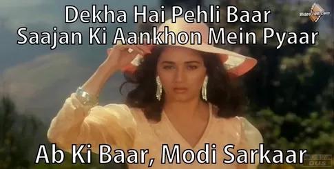 Saajan ke Aankhon main pyaar- Abki Baar Modi Sarkar