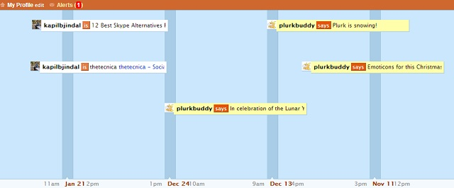 plurk - Twitter Alternative