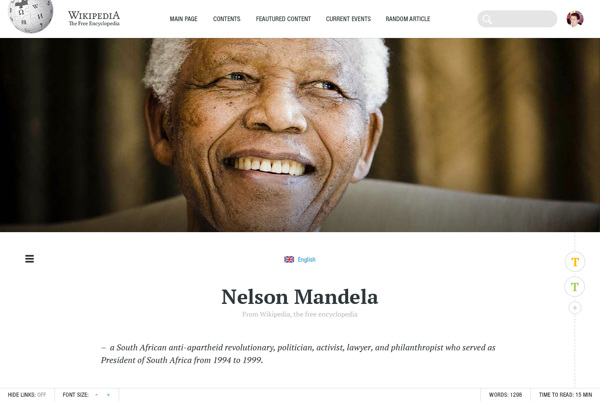 w5- Redesign Concept For Wikipedia