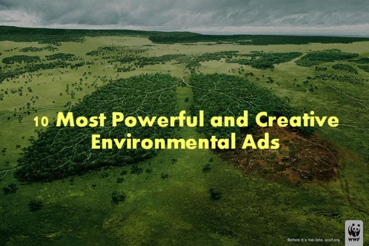 10 Most Powerful and Creative Environmental Ads
