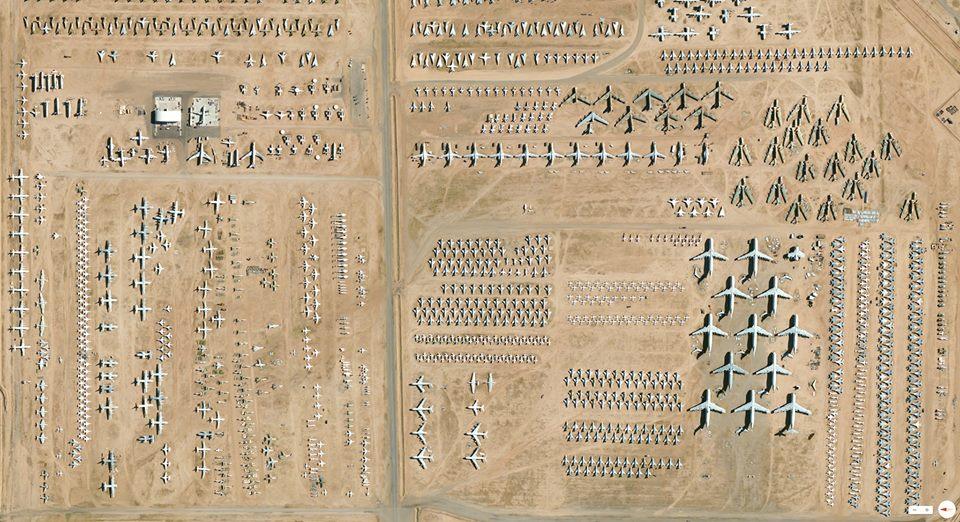 Keindahan Foto Satelit Bumi Tucson, Arizona, USA