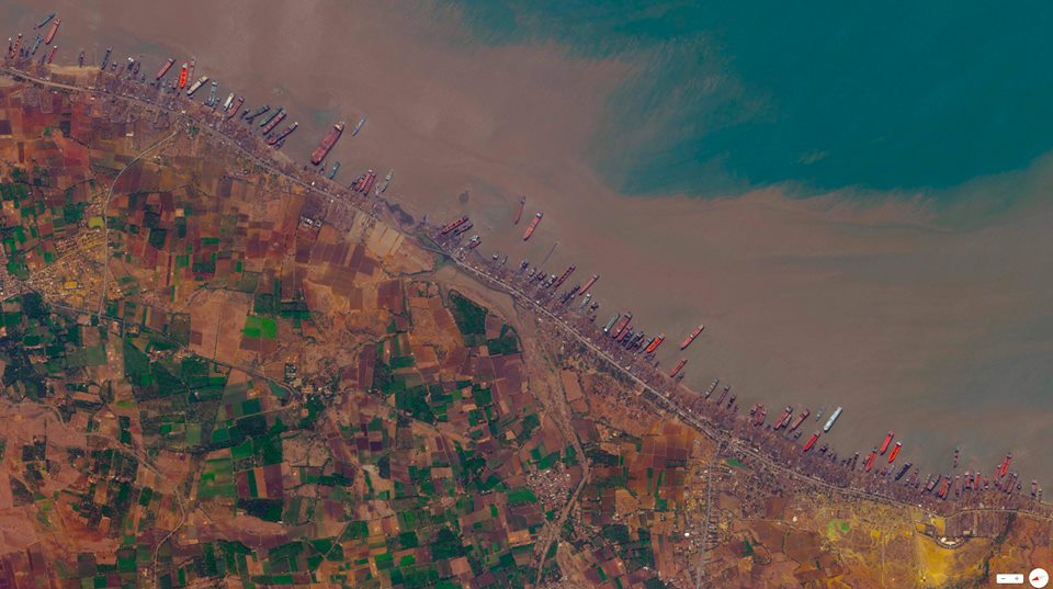 Alang Ship-breaking yards