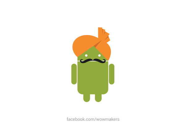 Android Desi Logo