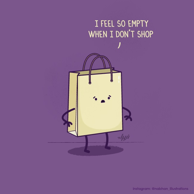 Confession of a shopping bag