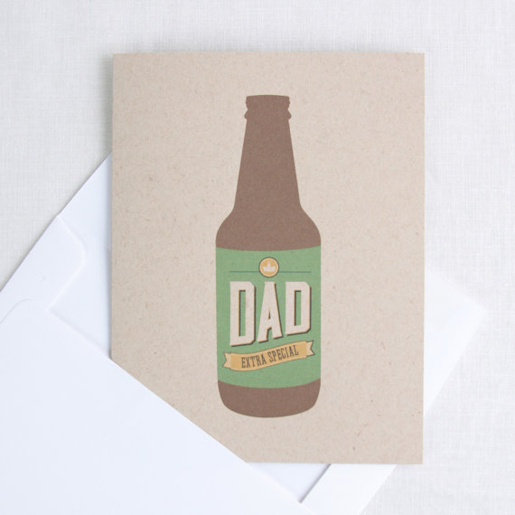 Extra Special Beer Bottle