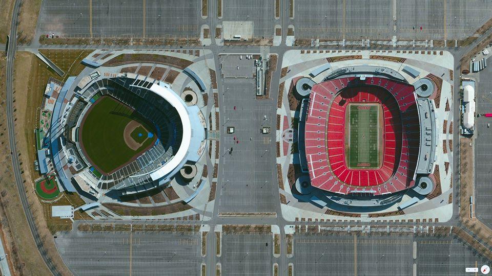 Kauffman Stadium  Arrowhead Stadium