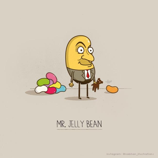 Mr. Jelly Bean