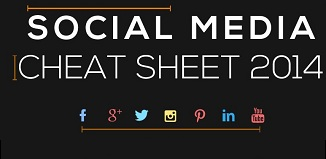 Social Media cheat sheet 2014
