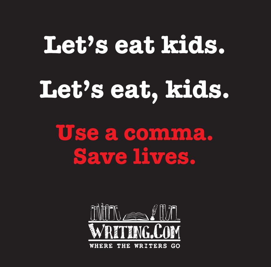 Use Comma, Save Lives