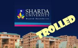 sharda university trolled world is here where are you (1)