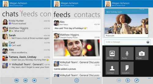 BBM Beta for Windows Phone