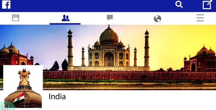 India facebook timeline independence video