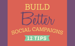 social media campaigns tips infographic 2014