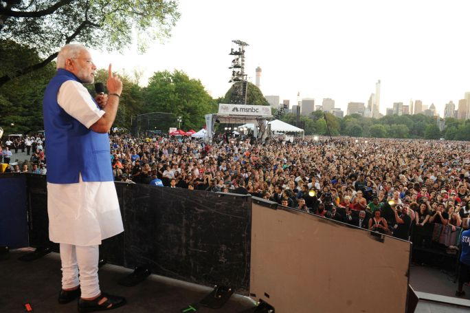 Narendra Modi's Speech at Global Citizen Festival