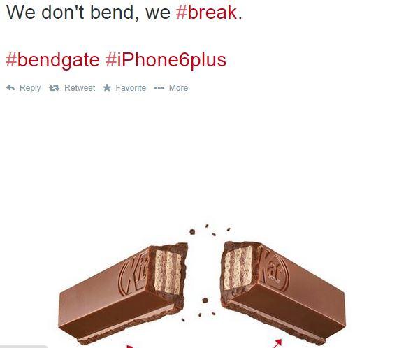 iphone 6 bendgate funny Twitter reaction 5