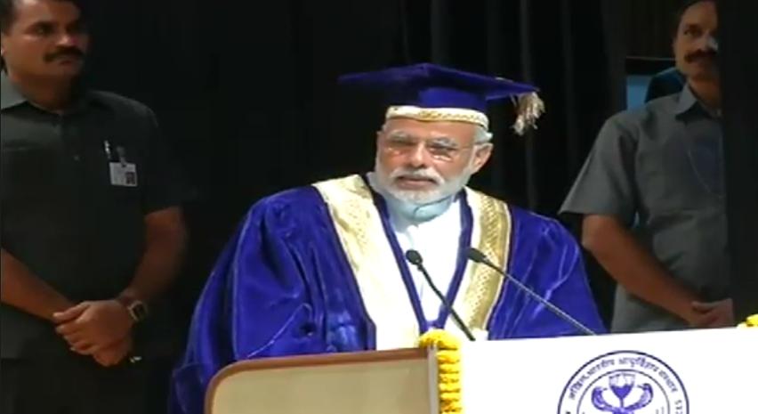 Modi AIIMS commencement speech
