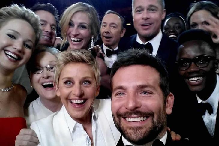 World's most viral selfie