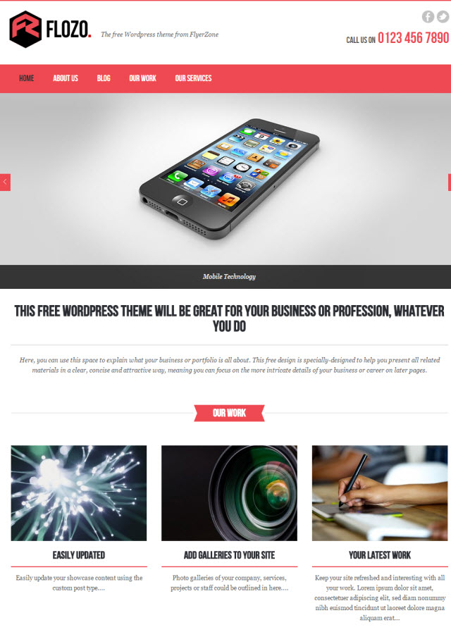 Flozo Business Theme