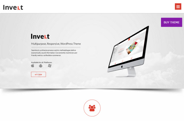 Invert Business Theme
