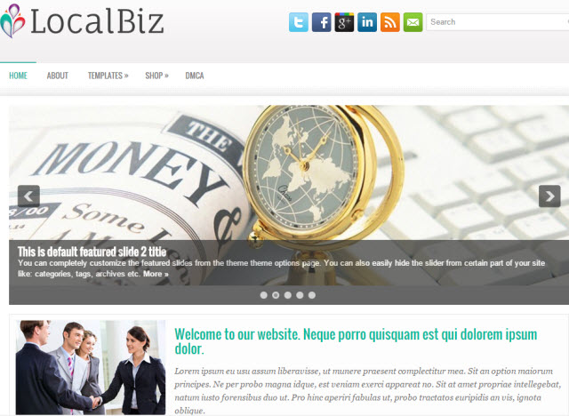 LocalBiz Business Theme