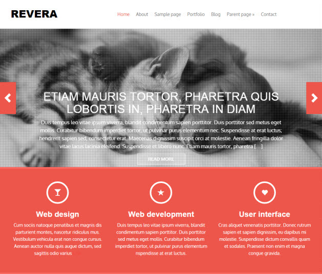 Revera Business Theme