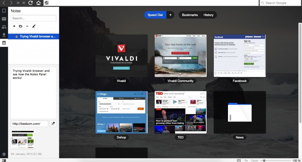 vivaldibrowser-leftpanelscreendial