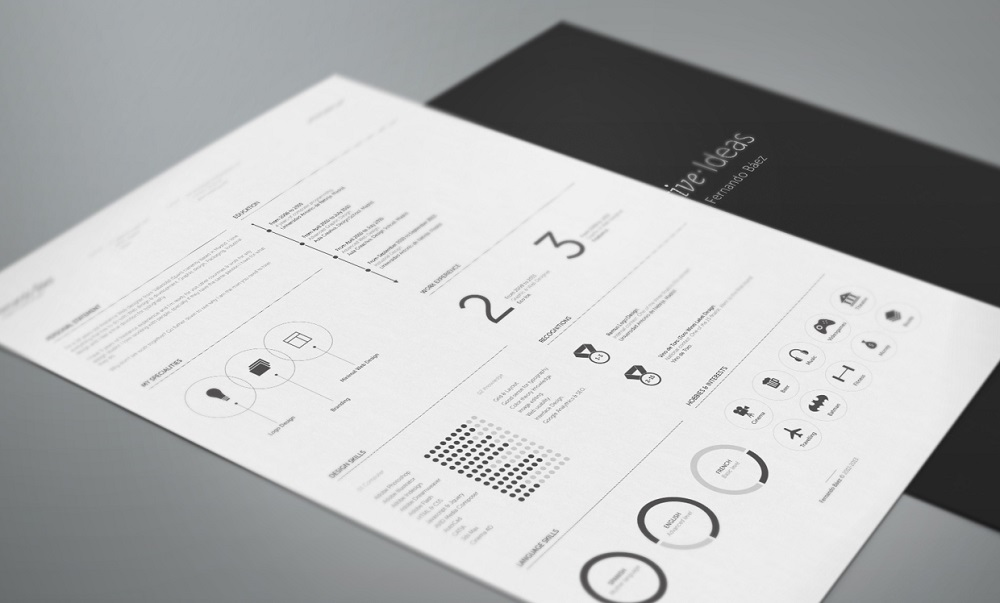 designers creative resume