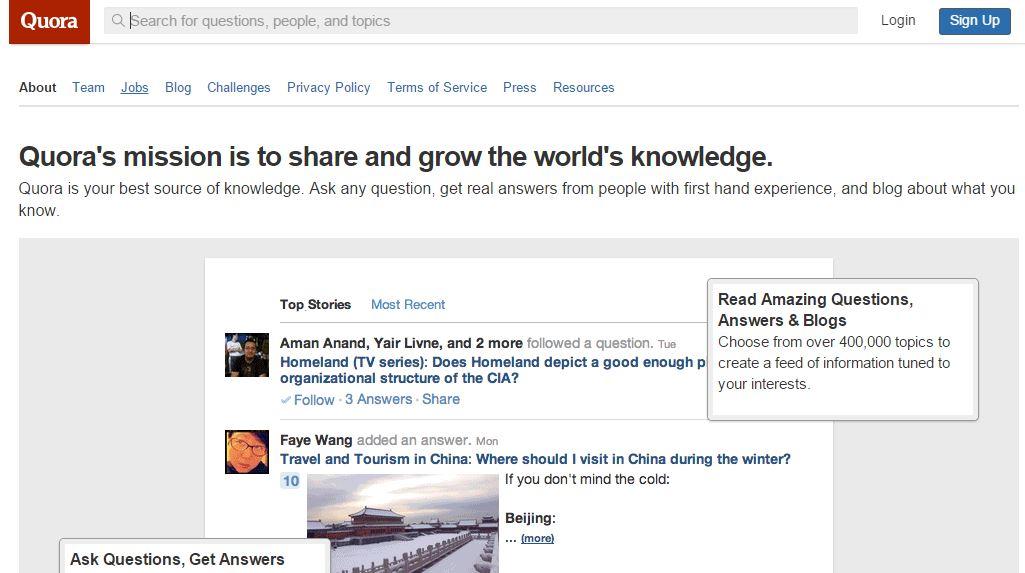 Quora Vs WordPress Vs Blogspot Vs Tumblr Vs Medium 2015