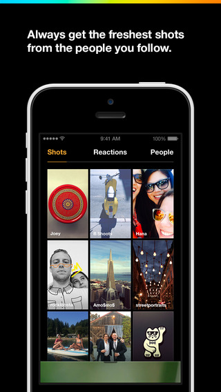 Slingshot by Facebook Alternative to Snapchat