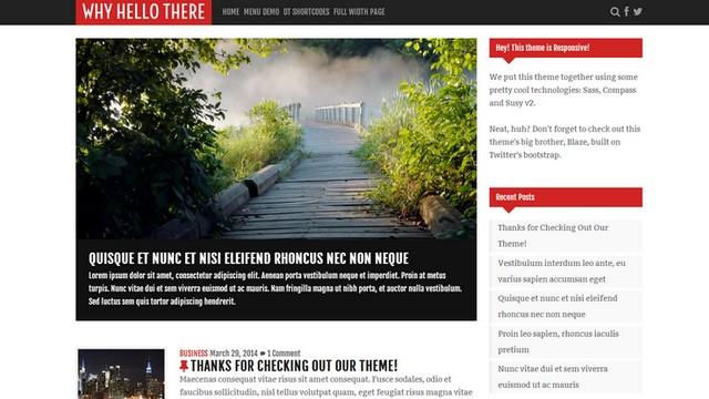 Why-Hello-There-Free-WordPress-Theme