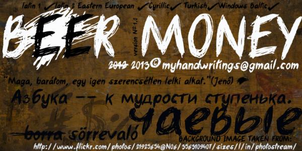 handwriting-fonts-beermoney