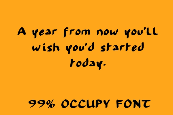 handwriting-fonts-occupy