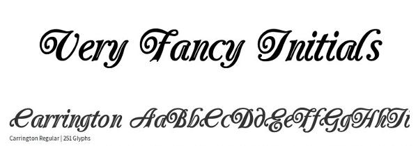 monogram-fonts-carrington