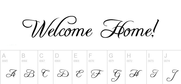 monogram fonts freebooter
