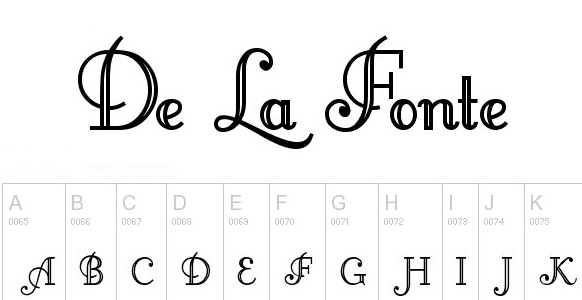 monogram fonts littlelordfontleroy