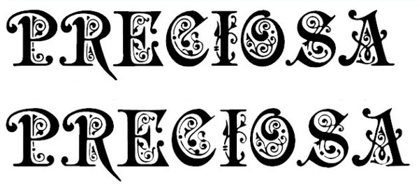 monogram-fonts-preciosa