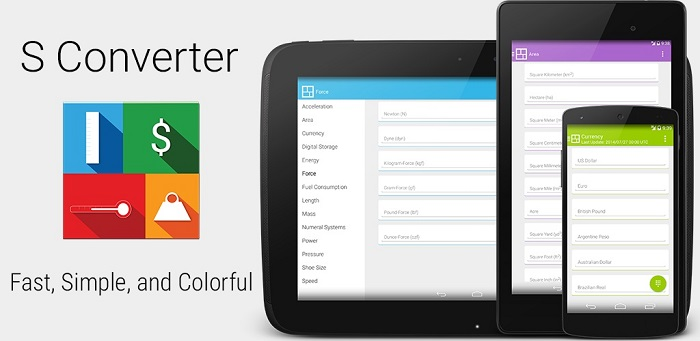 s-converter material design android app 1
