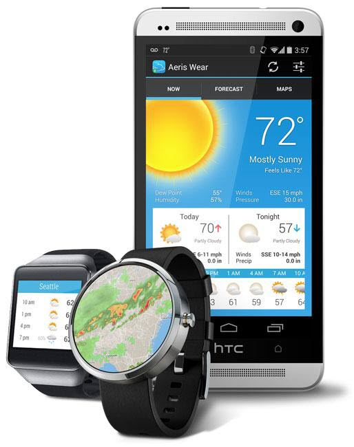 Aeris Weather app