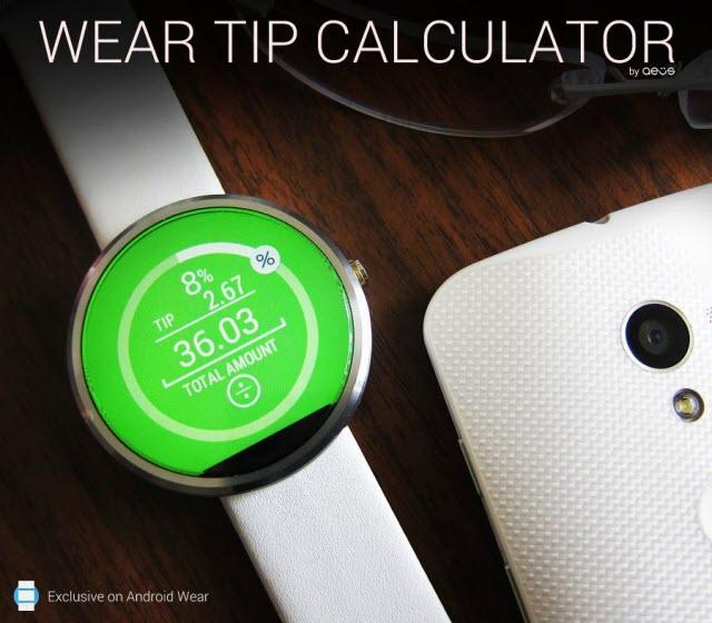 Wear Tip Calculator