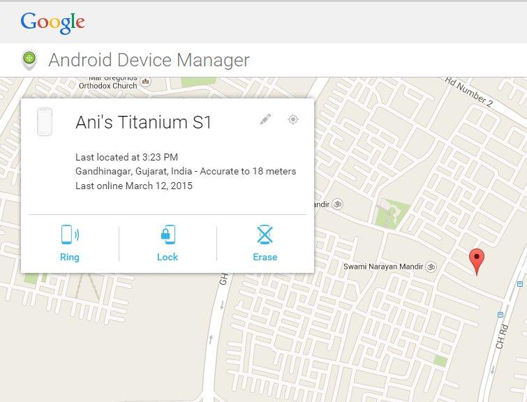 ADM Web interface screenshot