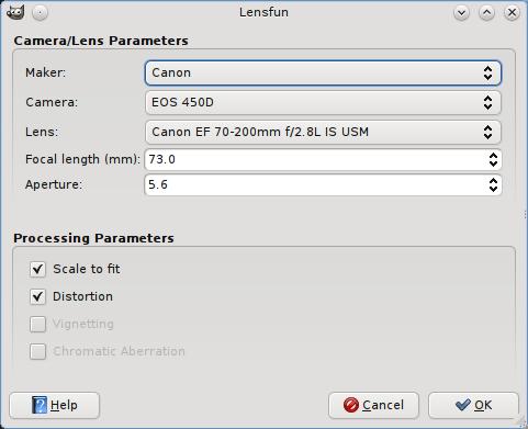 gimp-plugins-lensfun
