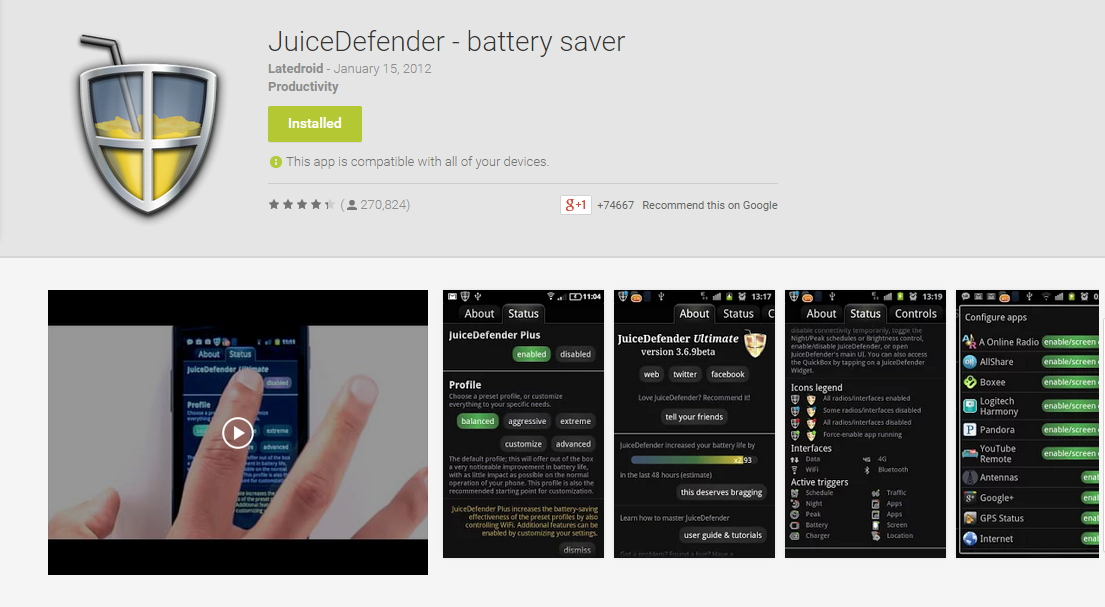 How To Save Battery On Android Phones