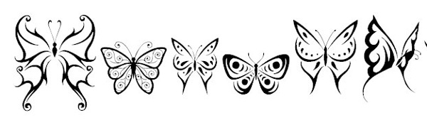 tattoo-fonts-tribalbutterflies