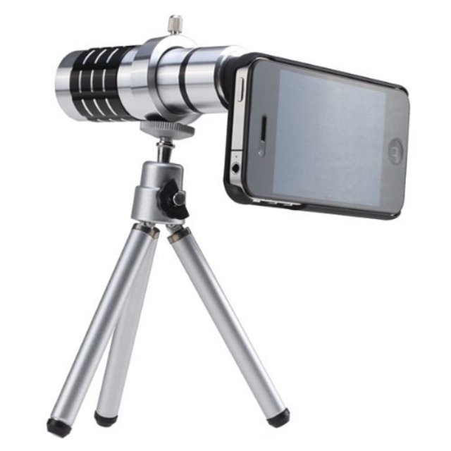 BW Telescope Camera Lens