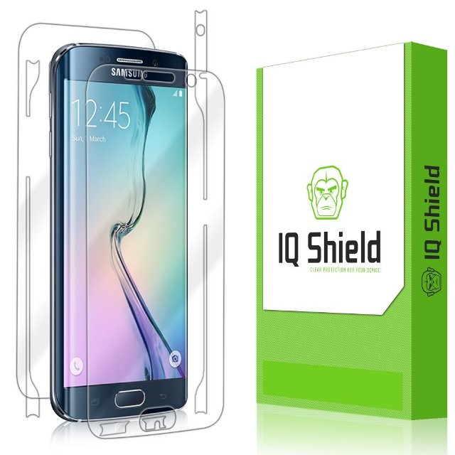 IQ Shield LiQuidSkin Galaxy S6 Edge Screen Protector