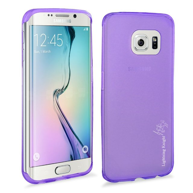 LK Soft Skin Protective Case for Galaxy S6 Edge