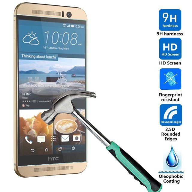 MP-Mall HTC One M9 Screen Protector